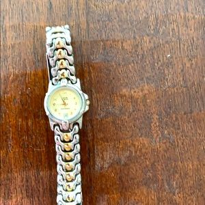 Anne Klein two time watch